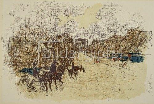 Pierre Bonnard: L'Arc de Triomphe.