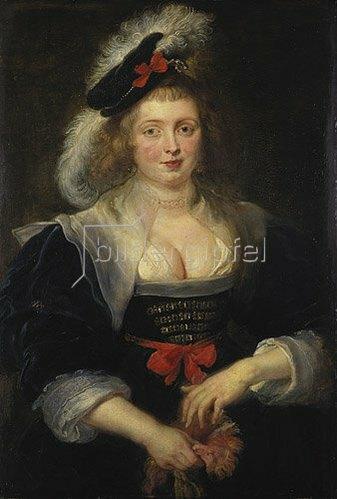 Peter Paul Rubens: Helene Fourment, einen Handschuh anziehend. Um 1630/31