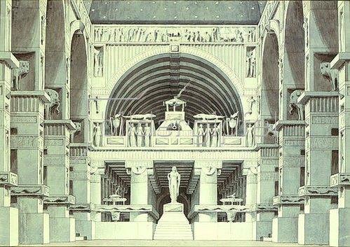 Giorgio Fuentes: Tempelraum.