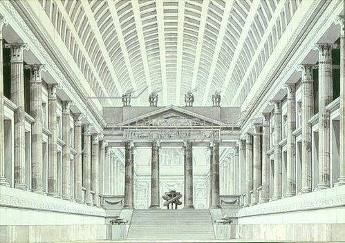 Giorgio Fuentes: Großer Tempel des Jupiter.