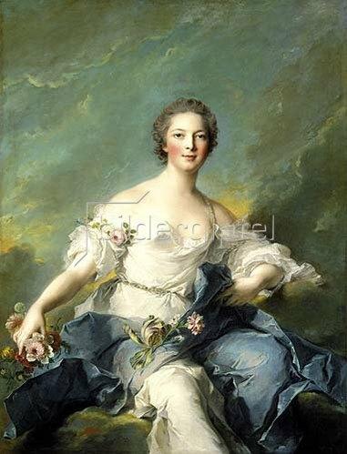 Jean Marc Nattier: Die Marquise de Baglion als Flora. 1746
