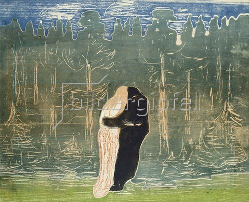 Edvard Munch: Zum Walde II. 1915.