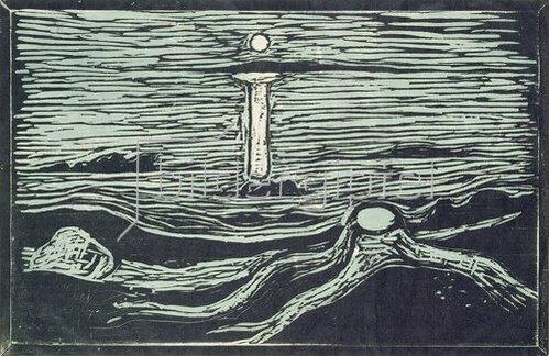 Edvard Munch: Meereslandschaft. 1897.
