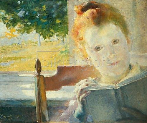 Albert Besnard: Sommermorgen. 1886
