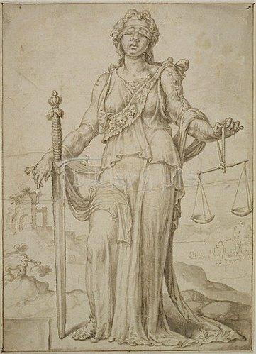Maerten van Heemskerck: Justitia.