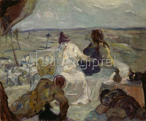 Max Beckmann: Simson und Dalila. 1912.