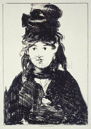 Edouard Manet: Berthe Morisot. 1872/73
