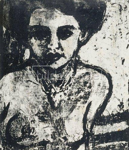 Ernst Ludwig Kirchner: Artistenkind. 1909