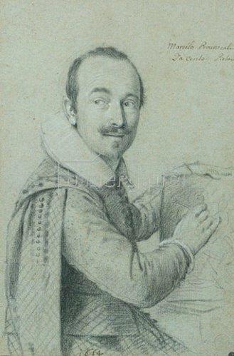 Ottavio Leoni: Portrait des Marcello Provenzale. 1614