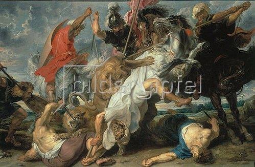 Peter Paul Rubens: Die Löwenjagd. 1621