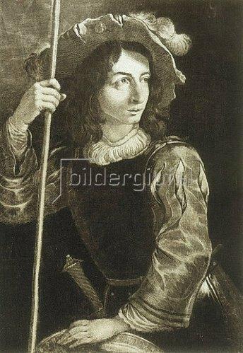 von der Ruprecht Pfalz: Der Standartenträger, nach Petro della Vecchia. 1658