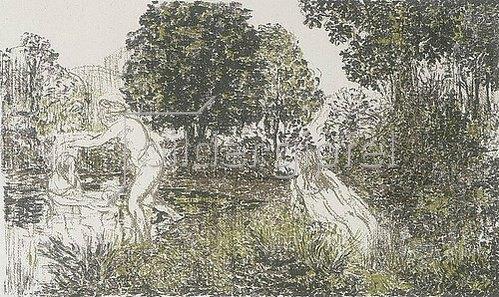 Ker Xavier Roussel: Die Badenden. Um 1900