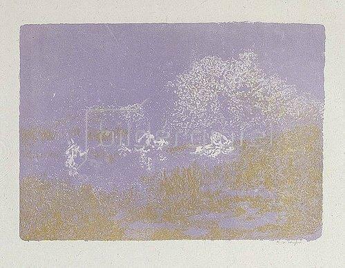 Ker Xavier Roussel: Landschaft mit Nymphen. Um 1900