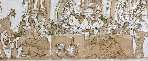 Ansaldo (Gioacchino Assereto): Letztes Abendmahl