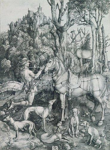 Albrecht Dürer: Der hl.Eustachius.