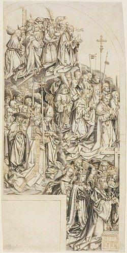 Hans d.Ä. Holbein: Linker Flügel eines Allerheiligenaltares. Um 1507