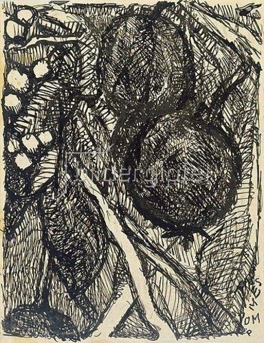 Louis Soutter: Pommes. 1923-30