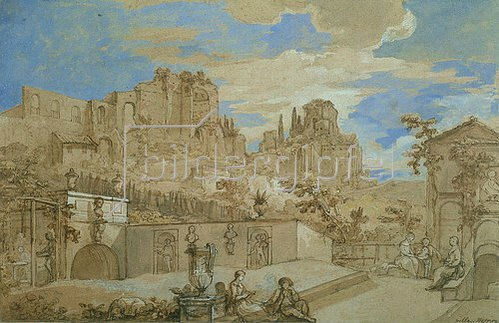 Charles-Joseph Natoire: Villa Natoire. 1760