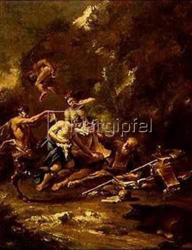 Sebastiano Ricci: Versuchung des hl.Antonius.