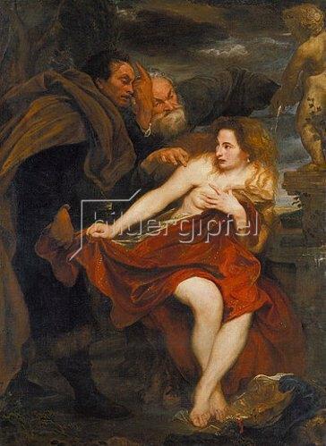 Anthonis van Dyck: Susanna im Bade.