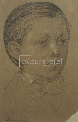 Otto Franz Scholderer: Kinderbildnis des Wilhem Amandus Beer. 1852.