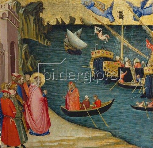 Ambrogio Lorenzetti: Die Legende des hl. Nikolaus.