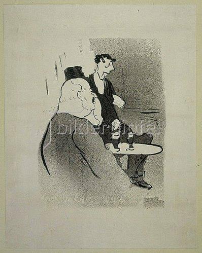 Henri de Toulouse-Lautrec: Ducarre aux Ambassadeurs. 1893.
