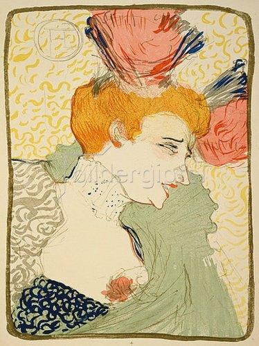Henri de Toulouse-Lautrec: Mademoiselle Marcelle Lender, en buste. 1896.