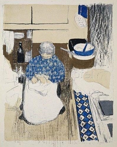 Edouard Vuillard: La Cuisinière (Die Köchin).