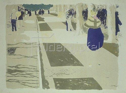 Edouard Vuillard: L'Avenue (Die Allee).