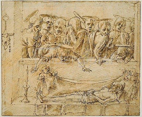 Marco (Antonio di Ruggero) Zoppo: Beweinung Christi.
