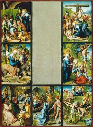 Albrecht Dürer: Altar: Die sieben Schmerzen der Mariae. 1495/96