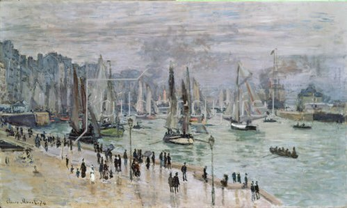 Claude Monet: Port de Mer (Le Havre). 1874