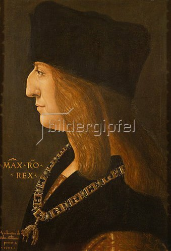 Ambrogio de Predis: Kaiser Maximilian I. 1502. Nach 1508