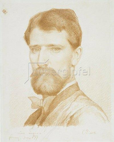 Karl M. Pidoll zu Quintenbach: Selbstbildnis. 1877