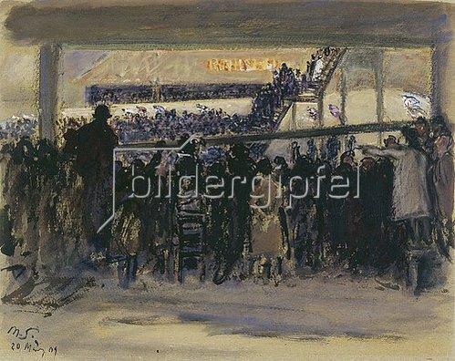 Max Slevogt: Berliner Sechstagerennen. 1909