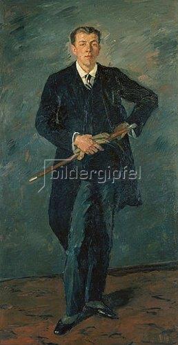 Max Beckmann: Bildnis Hanns Raabe. 1925
