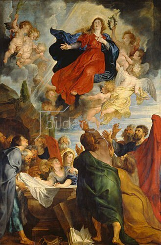 Peter Paul Rubens: Die Himmelfahrt Mariae.  Um 1616-1618