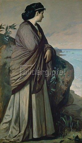 Anselm Feuerbach: Am Meer (Moderne Iphigenie). 1875