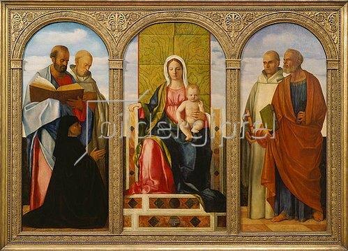 Giovanni Bellini: Pala Priuli. 1505-1510