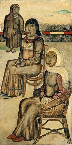 Jankel Adler: Drei Frauen. 1926