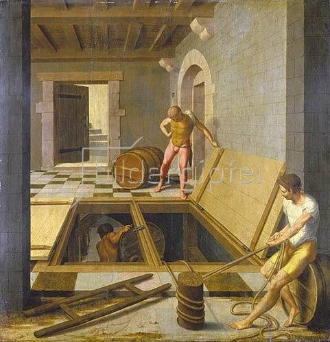 Felix Chretien: Kellerszene. 1537.