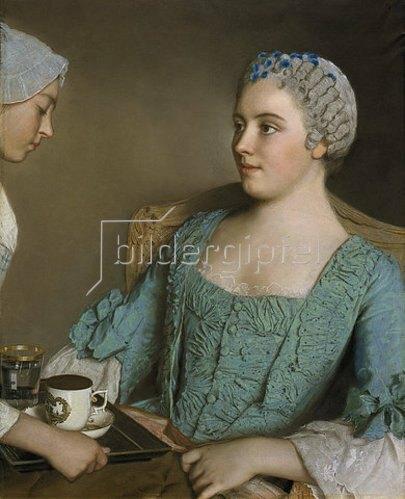 Jean Etienne Liotard: Das Frühstück. 1753/56