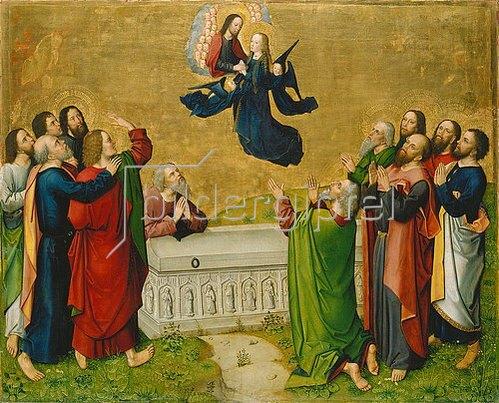 Meister des Marienlebens: Himmelfahrt Mariae. Um 1460/65