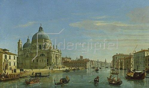Gaspar Adriaens van Wittel: Blick auf Santa Maria della Salute in Venedig. 1706