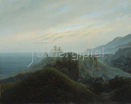 Caspar David Friedrich: Blick auf die Ostsee. Um 1820-25