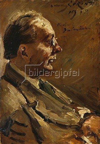 Lovis Corinth: Bildnis des Dichters Herbert Eulenberg. 1918