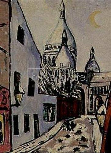 Max Beckmann: Sacre-Coeur im Schnee. 1939.