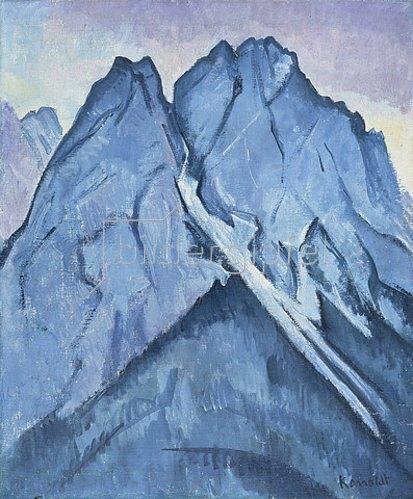 Alexander Kanoldt: Waxenstein. 1931/32