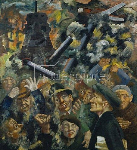 Peter Ludwigs: Der Krieg. Um 1937